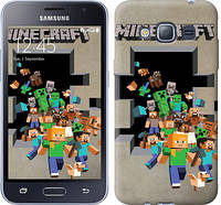 "Чехол на Samsung Galaxy J1 (2016) Duos J120H Minecraft 6 ""3330c-262-16132"""