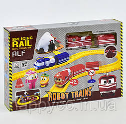 Детская железная дорога  на батарейках, в коробке интерактиваня игрушка