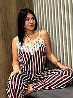 Костюм женский велюровый майка и штаны