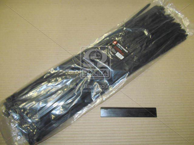 Хомут пластиковый 9х550мм. черный 100шт./уп.  DK22-9х550BK
