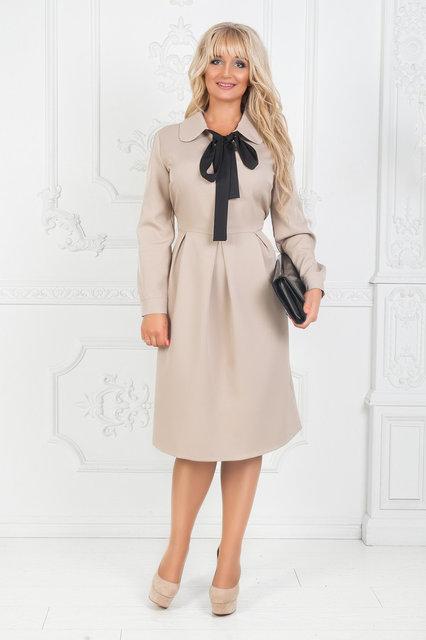 Женское платье миди с галстуком от 50р.
