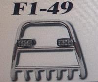 Кенгурятник F1-49.