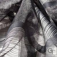 Ткани для штор, гардин BRAVIA - 19-BLACK