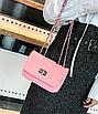 Сумка женская клатч через плечо в стиле mini Розовый, фото 4