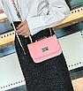 Сумка женская клатч через плечо в стиле mini Розовый, фото 2
