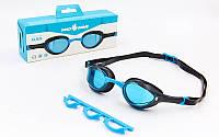 Очки для плавания MadWave ALIEN (поликарбонат, термопластичная резина, силикон), фото 1