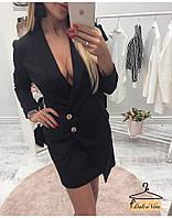 Платье пиджак костюмка 42-44, фото 1