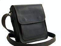 Мужская сумка GS кожаная  коричневая