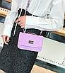 Сумка женская клатч через плечо в стиле mini Фиолетовый, фото 2