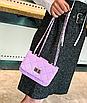 Сумка женская клатч через плечо в стиле mini Фиолетовый, фото 3