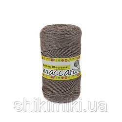 Трикотажный шнур Cotton Macrame, цвет светло-коричневый