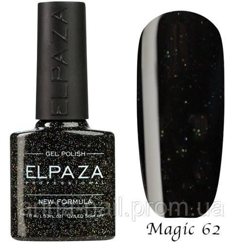 Гель лак ELPAZA Magic Stars 62 Чёрная Жемчужина 10 мл
