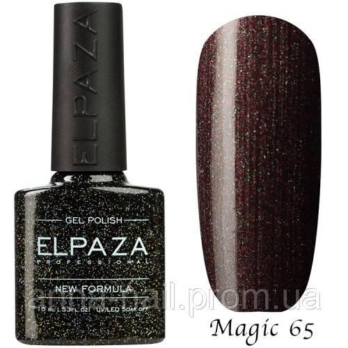 Гель лак ELPAZA Magic Stars 65 Звёздное Небо 10 мл