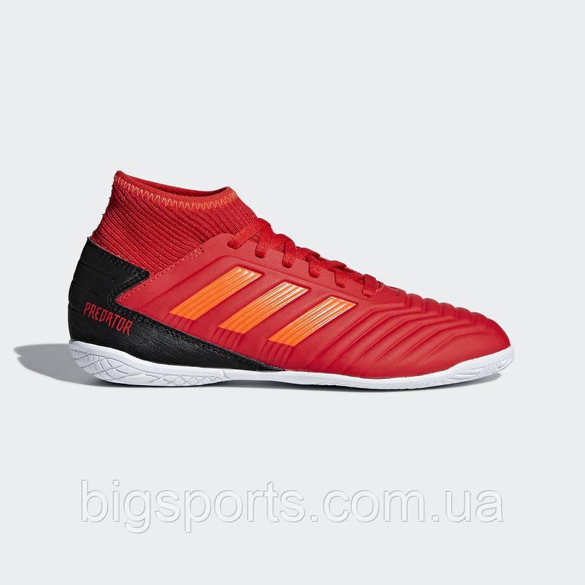 Бутсы футбольные для игры в зале дет. Adidas JR Predator 19.3 IN (арт. CM8544)