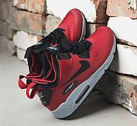 c5bf3598 Nike Air Max 90 Mid Winter Gym Red | мужские кроссовки; красные; зимние;