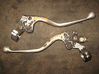 Ручки пара выжима переднего тормоза и сцепления МТ 9 10 Днепр Урал К-750, фото 1