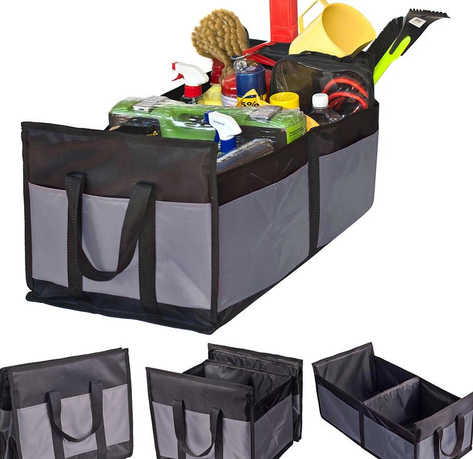 Органайзер в багажник Штурмовик АС-1536 BK/GY 600х370х250мм