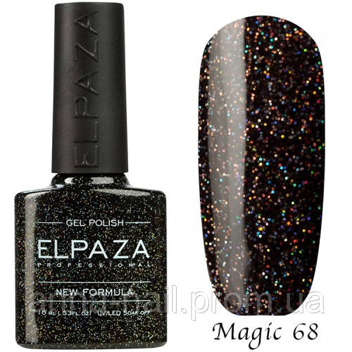 Гель лак ELPAZA Magic Stars 68 Ночная Москва 10 мл
