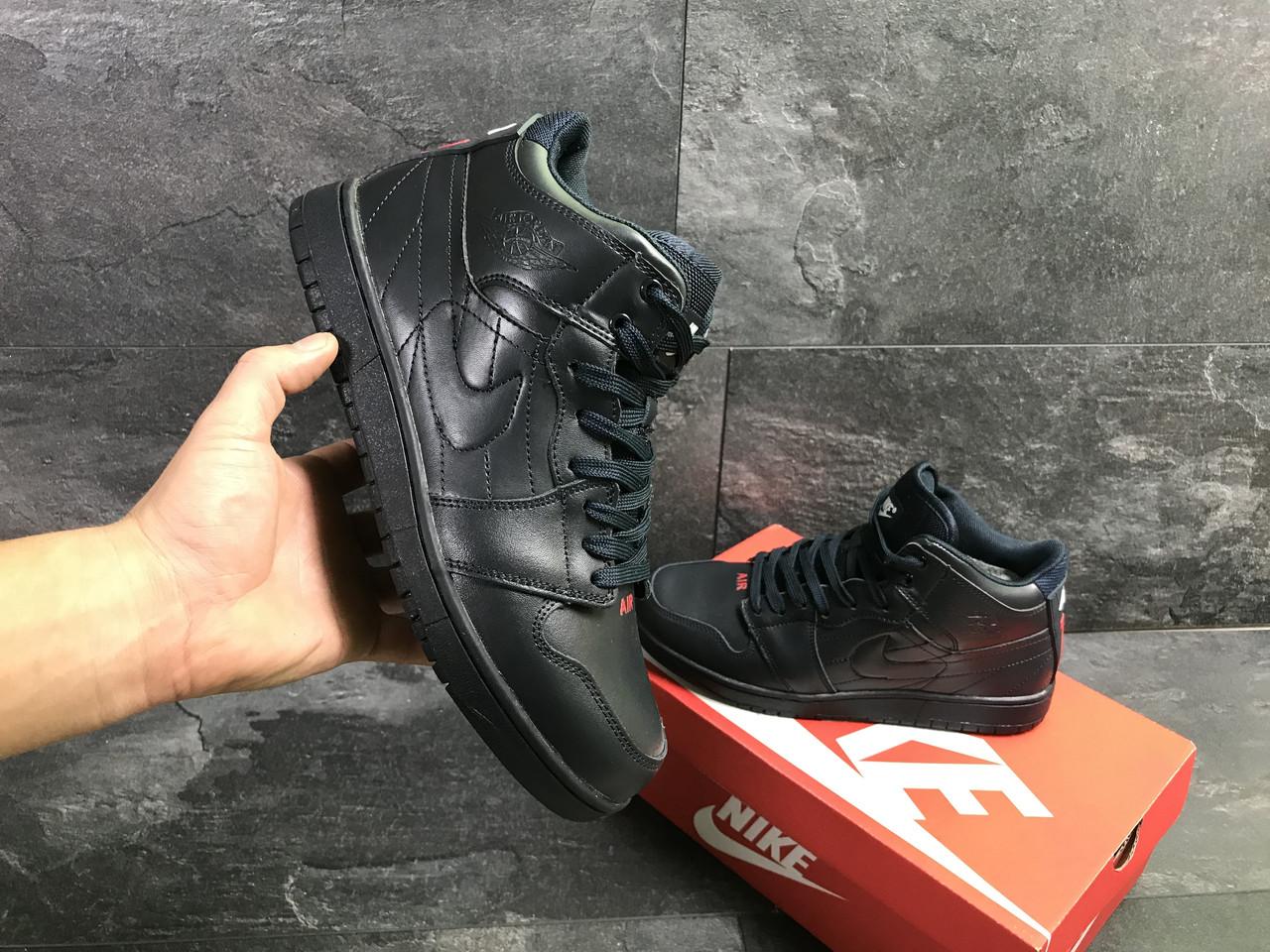 a2e3eefd4ac9 Мужские зимние кроссовки Nike Air Jordan синие ( реплика ААА+) ...