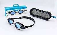 Окуляри для плавання MadWave SHARK (полікарбонат, термопластична резина, силікон)