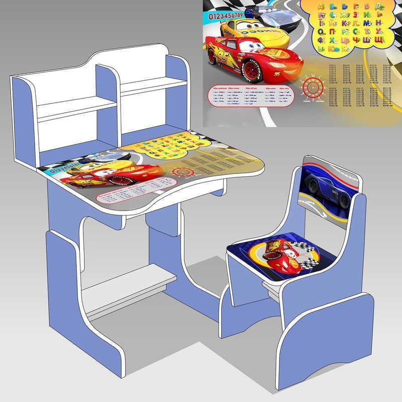Детская стол - парта Тачки