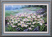 Набор для вышивки бисером Луговые цветы МК Б-253