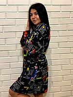 Домашняя одежда,женский халат, фото 1