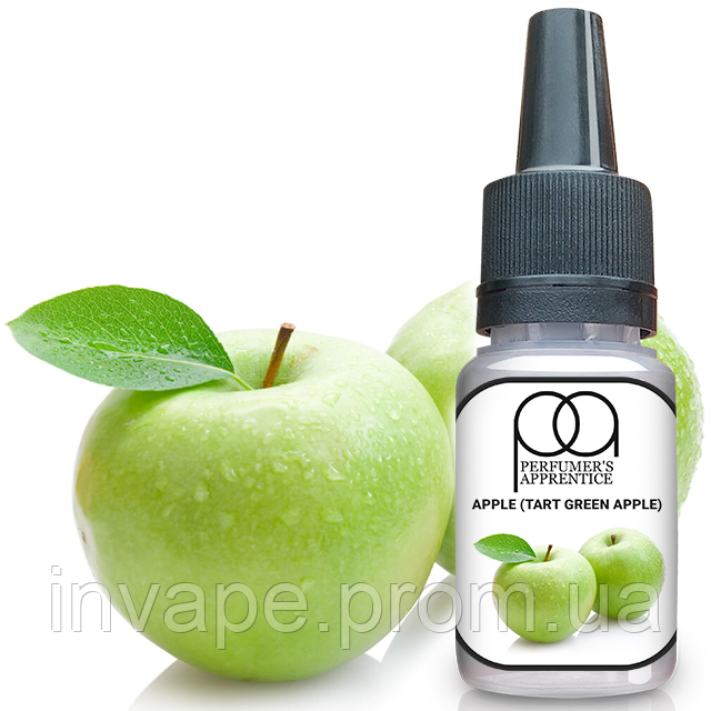 Ароматизатор TPA Apple (Tart Green Apple) (Кислое зеленое яблоко) 5мл