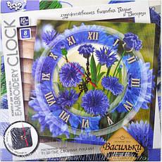Вышивка гладью «Embroidery clock» , фото 3