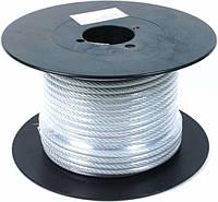 Трос стальной в оплетке 0,6мм