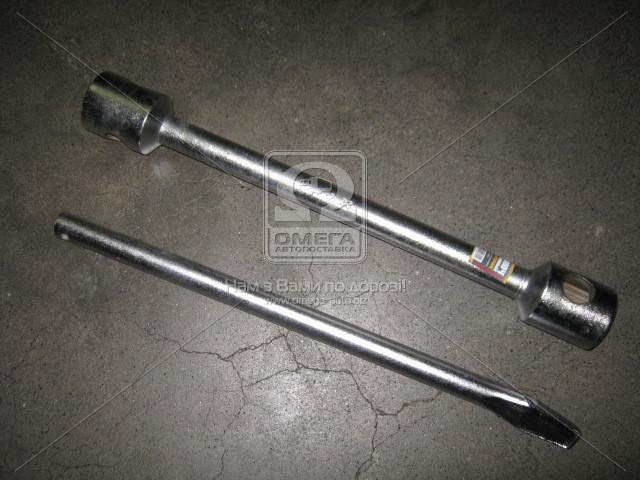 Ключ c термообработкой балонный для грузовиков d=22, 32х33х395мм, с воротком  ARM2819-3233
