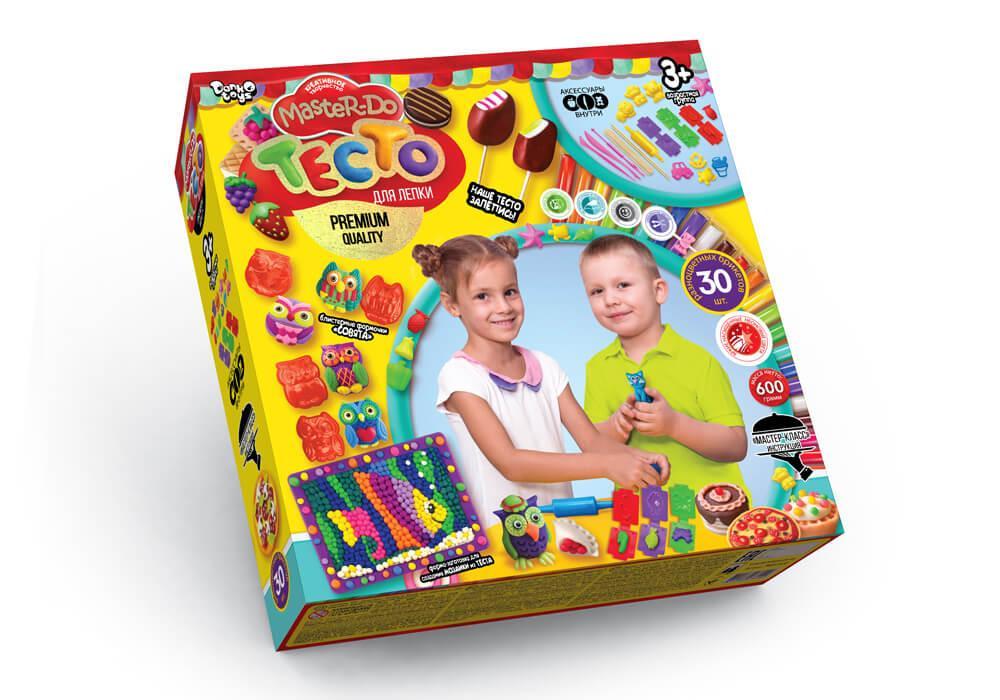 Тесто для лепки Master-Do 30 цветов Danko Toys (TMD-03-02)
