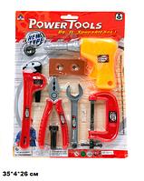 Набір дитячих інструментів 2991C (96шт/2) на листі 35*4*26 см