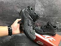 Nike Air Max 98 мужские зимние кроссовки серые  (Реплика ААА+), фото 1