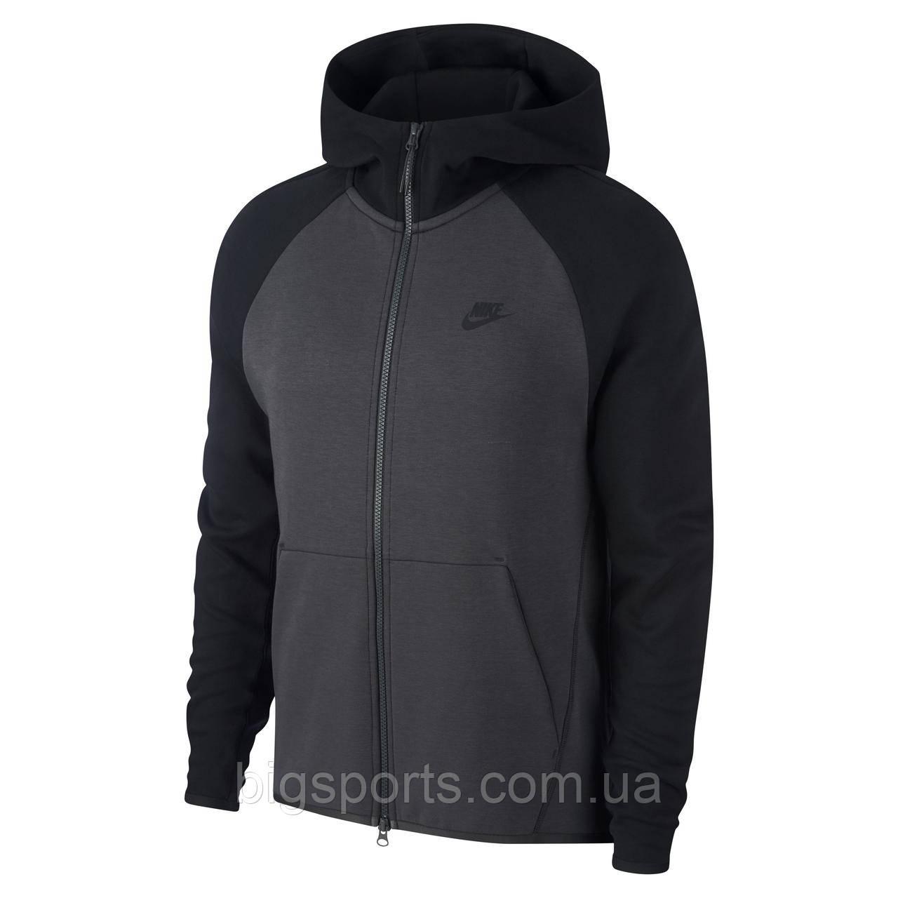 0a9b3d35 Кофта муж. Nike M Nsw Tch Flc Hoodie Fz (арт. 928483-060): продажа ...