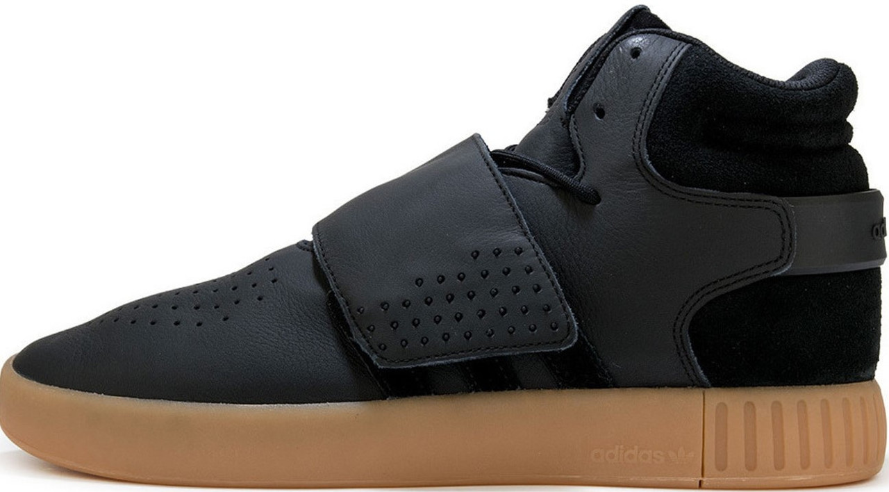 """Мужские кроссовки Adidas Tubular Invader """"Black"""" ( в стиле Адидас Тубулар)"""