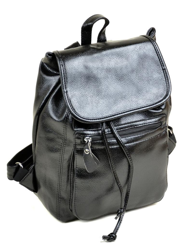 Рюкзак иск-кожа 08-1 F2 black Распродажа