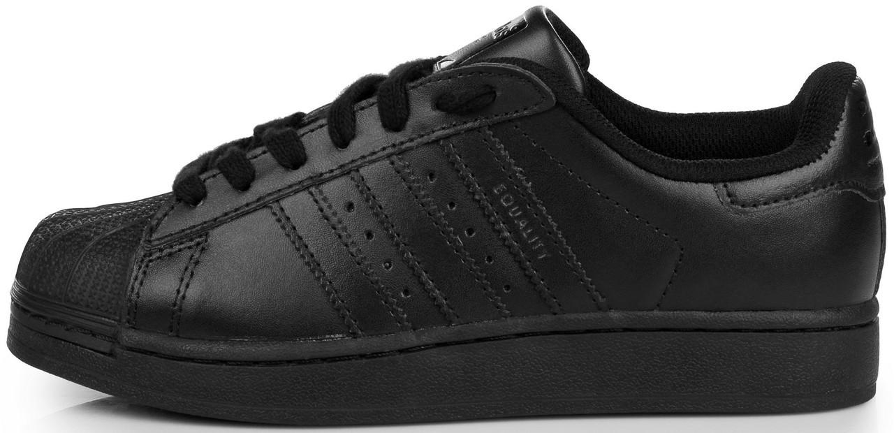 03248787 Женские кроссовки Adidas Superstar Supercolor PW Black (в стиле Адидас  Суперстар) черные