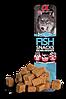 Альфа Спирит Alpha Spirit Snacks беззерновое лакомство для собак с рыбой кубики 35 г