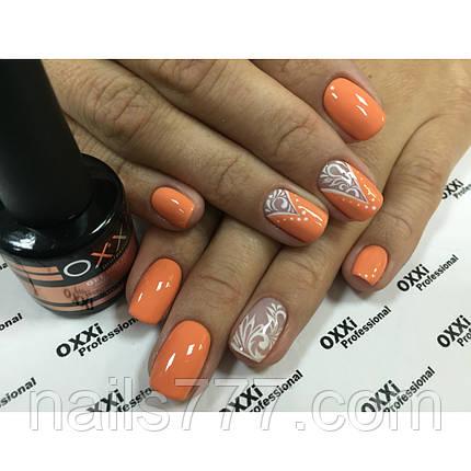 Гель лак Oxxi №003 (оранжевый, эмаль) 8мл, фото 2