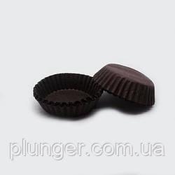 Тарталетка бумажная для конфет Коричневая 3а, d=30мм. h=9мм