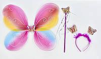 Карнавальный костюм (крылья,палочка,ободок)