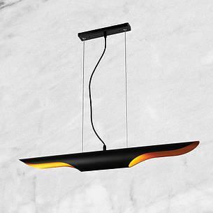 """Чёрный подвес """"Крыло"""" (56-PR0912-1 BK), фото 2"""