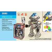 Робот 28085 на радиоуправлении с оружием стреляет дисками с звуковыми эффектами