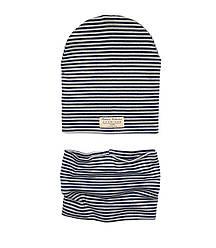 Набор двойная шапочка + хомут 44-46,48-50,52-54 см. Andriana Kids