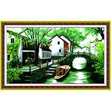 Набор для вышивания картины Дельта Речки