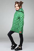 Куртка детская Мия - Зеленый №16-5938