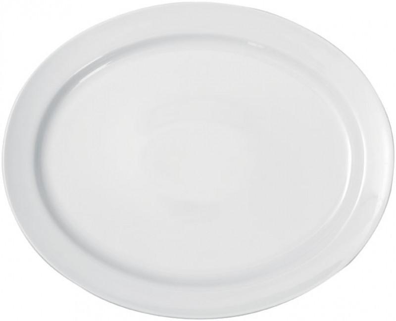 Блюдо овальное 30,5x24,5cm, Solid