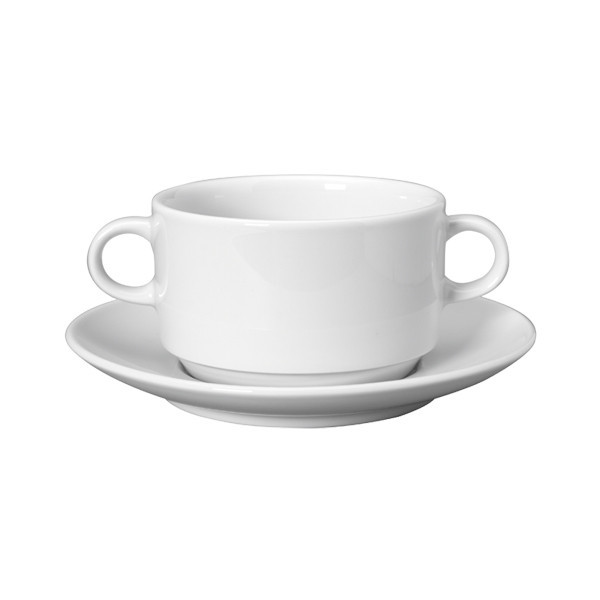 Чашка для бульона 310ml, Solid