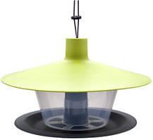 Кормушка для птиц Finch 28х17 см, зеленая 59600